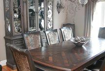 dining room set cjalkpaint