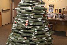 Vianočný stronček z kníh