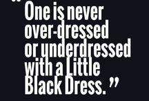 Little Back Dress...