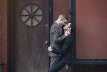 gay couple posing