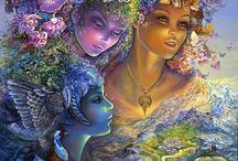 Josephine Wall / Imagination at it's finest. / by Connie Perteet