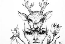 RE / graphic / tatoo / dotwork / my works