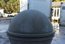 Jesmonite/Portland Stone work
