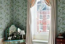 Bowed Window Treatments'