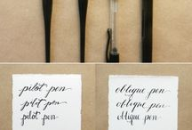 LETTERS: drawing & writing / calligraphy, lettering, scripts, fonts