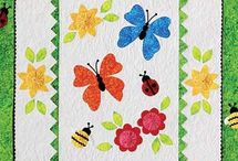 Quilting - butterflies