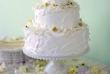 Jonah and Laura's Wedding Cake Ideas / by Hilary Boonstra