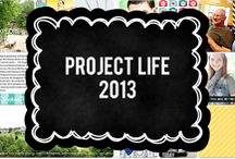 My Project Life Layouts 2013