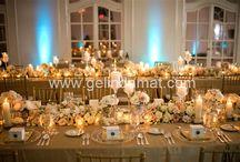 Düğün Organizasyon / Wedding Planner / Sandalye süslemesinden gelin yoluna, masa düzeninden yemeklere, ses & ışık düzeninden orkestrasına kadar hayallerinizi süsleyen kusursuz bir düğün için Şehrinde ki en iyi düğün organizasyon firmalarının hepsi tek tıkla ve özel indirimlerle Gelindamat.com da!