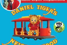 Daniel Tiger Party! / A board all about the PBS Hit Show Daniel Tiger!