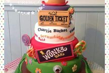 Charlie and the chocolate factor cakes