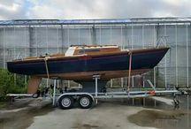 """Waarschip 725 """"Vertrouwen"""" restoration / restoration done by """"Nautisch Centrum Delfzijl"""""""