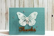su butterfly cards video++ / by Lavinia Dow