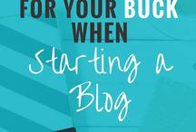 | Blogging | / Tips for blogging