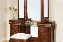 Cherry Vanity Tables / Cherry makeup vanity tables and makeup desks