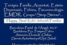 Happy Soul Psicologia / Terapia & Coaching Online (Español, English, Français & Catalan).  En Barcelona, Badalona y a domicilio. 15 años de experiencia, las mejores técnicas a medida. www.happysoul.cat / infohappysoul@gmail.com