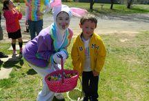 Easter at Rikki's Refuge 2015 / A fun time was had by all at the Annual Easter Egg Hunt at Rikki's Refuge! - www.rikkisrefuge.org