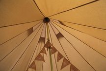 Wedding Bells / Create a festival glamping village for your wedding guests with our fully furnished bell tents