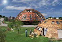 Eco-village, habitat groupé