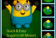 Sugarcraft Characters / A selection of fun, famous and easy sugarcraft characters to inspire cake decorators everywhere.