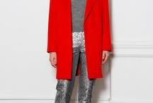 Charcoal metallic trousers