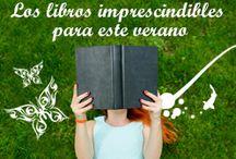 Los imprescindibles para este verano / Mete un libro en tu maleta. Aquí más propuestas: http://goo.gl/XCacpy