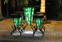 NCAA - USF - Bright Stools and Tables / www.brightstools.com
