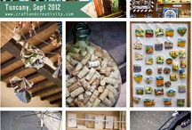 Tuscany, artisans & handcrafts / A collection of photos from Pinterest about creative & original crafts by Tuscan artisans
