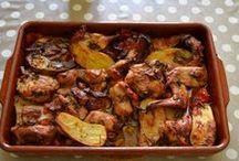 recettes viande, poulet, lapin ect