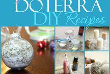DIY Essential Oil Crafts / DIY Crafts using Essential Oils