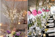 Weddings -- Curly Willow, Branches, and Trees / Ideas for using curly willow, branches, and trees in wedding/party decor / by Lou Ann Wollett
