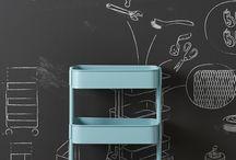 El carrito Raskog de IKEA / No se agobie, en HomeDepot lo venden