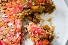 Rhubarb Recipes / Rhubarb Recipes - gluten free or to be converted to gluten free