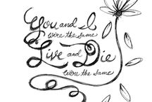 """Meagan - """"Live and Die"""" / A board to show my LOVE for you and our friendship!"""