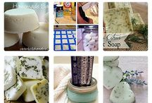 Homemade - Soaps / by Rayne Beaux
