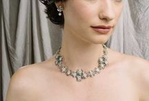 Wedding Necklaces / We have a beautiful collection of wedding necklaces, see more online at www.LeftBankBridal.com