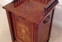 Purdonium, Coal Scuttle ,Box, Bin ,Hod, Baskets, Dogs , Andirons , Screens , Boards / by Jane Kurtz