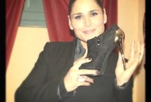 Rosa López con Exé Shoes
