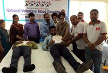 Blood Donation camp at GNA UNIVERSITY. / Blood Donation camp at GNA UNIVERSITY.