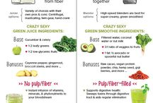 Smoothies & juicing recipes