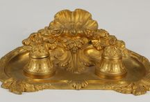 Design: Gold & Gilt Accents / Dazzling gilt furniture and decorative items that come across our auction block.