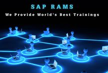 SAP Online Training / SAP RAMS ONLINE TRAINING is specialized in online trainings. We have been providing corporate trainings for one of the best MNC's around the globe.