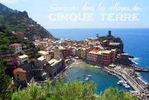 Cinque Terre / Nos conseils et bons plans pour visiter les villages colorés des Cinque Terre en Italie ! #cinqueterre #italie #ligurie