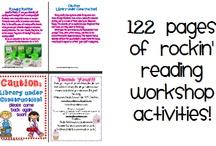 Reading Workshop Ideas / by Jessica Lynn