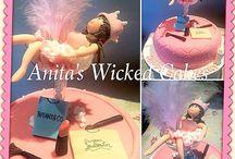 21st Princess birthday cake