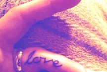 Tattoos / by Ashley Dennis