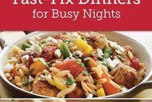 Quick recipes weeknights