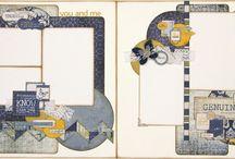 Authentique layouts