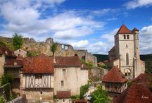 Saint Cirq Lapopie - France / Saint Cirq Lapopie in France