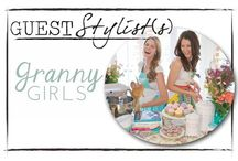 Gracie B. + Granny Girls / Amanda and Amber are the gorgeous and talented ladies behind the blog, Granny Girls. This month they are sharing their favorite picks from our shop along with style tips!